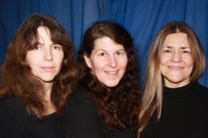 Jen, Sue, and Mel