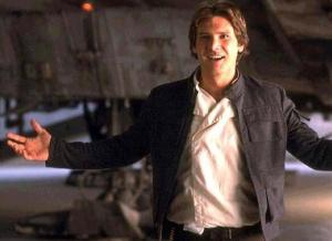 Star Wars - Han Solo smiling