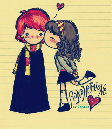Source: http://fc01.deviantart.net/fs16/f/2007/197/f/7/Ron_and_Hermione_Love_by_cleobella.jpg