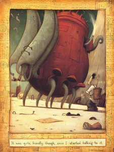 "The Lost Thing from Shaun Tan's picture book ""The Lost Thing"""