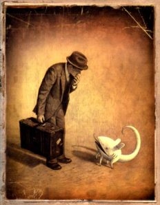Five Days with Shaun Tan – Day Three: The Arrival