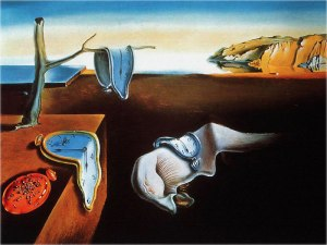 The Persistence of Memory, by Salvador Dalí.  Source: http://www.tufts.edu/programs/mma/fah188/clifford/TPOM.html