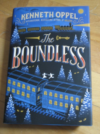 Boundless by Kenneth Oppel, illustrated by Jim Tierney