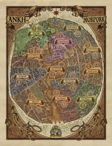 Ankh-Morpork - The City and the game board