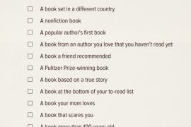 2015 Reading Challenge: TBW Edition