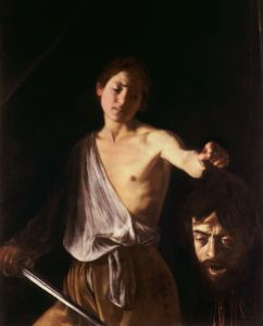 Caravaggio david with the head of goliath