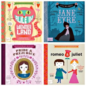 BabyLit Board Books by Jennifer Adams: A Review