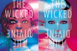 Snapshots: The Wicked + The Divine by Kieron Gillen, Jamie McKelvie (Illustrations), Matt Wilson (Colorist), Clayton Cowles