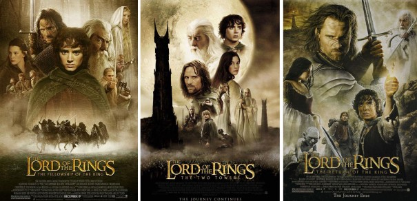 Image result for lord of the rings movies in order