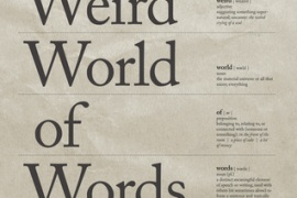 Review: The Weird World of Words: A Guided Tour by Mitchell Symons