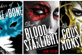 Series Review: Daughter of Smoke and Bone trilogy by Laini Taylor