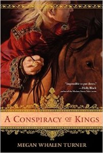 Discussion Post: A Conspiracy of Kings (Queen's Thief #4) by Megan Whalen Turner