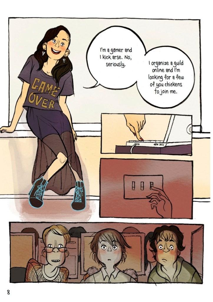 IRL comic page