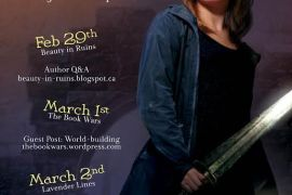 Blog Tour: Kristi Charish on World Building