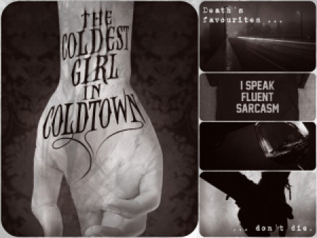Coldest Girl in Coldtown fanmix collage