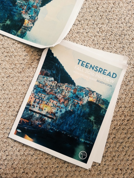 Raincoast Books Teens Reed 2016